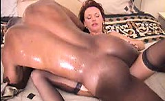 Hardcore mature wife interracial fucking
