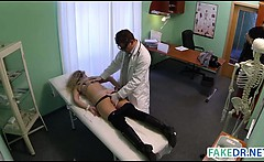 Doctor fucks his patient