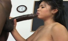 Lovely girl drilled by dark stud