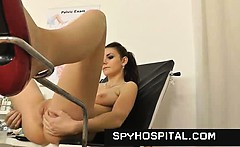 Old gyno doctor sets up a hidden cam
