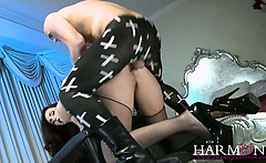 Paige Turnah enjoys a good hard doggystyle