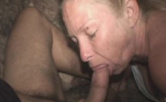Mature And Sloppy Crack Whore Sucking Dick Point Of View