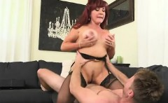 Sexy MILF Christina Gets Nailed After Work
