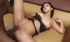 Tight latina anal stuffed with big black cock