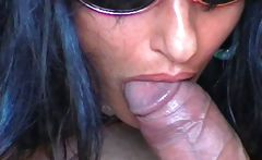 sucked and finished by hand till cum