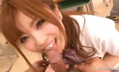 Asian student takes dick at school