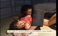 Chihiro Hara innocent Chinese girl who enjoys a jail fuck