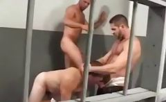 Bears Trap In Jail gay porn gays gay cumshots swallow stud hunk