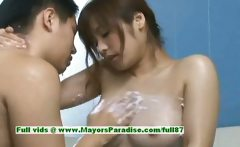 Nao Ayukawa innocent naughty chinese girl gives head in the