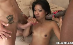 Sexy threesome with Lyla Lei