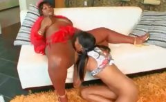 Big Black Ghetto Mama Sucked By Afro Teen