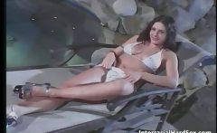 Hot horny slut sucks huge cock and gets