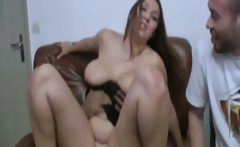 French granny Colombe double fucked