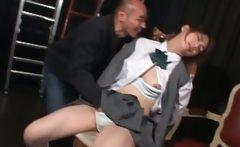 Teen asian sex prisoner gets boobs and cunt grabbed