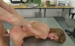school passionate bang with teacher