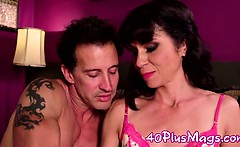 Divorcee milf in first porn shoot