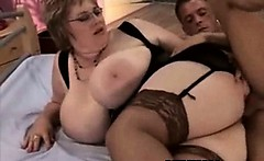 Hot Fucking In Wild Seductive BBW Honey Pot